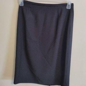 🌞Liz Claiborne Petite Black Polkadot Pencil Skirt